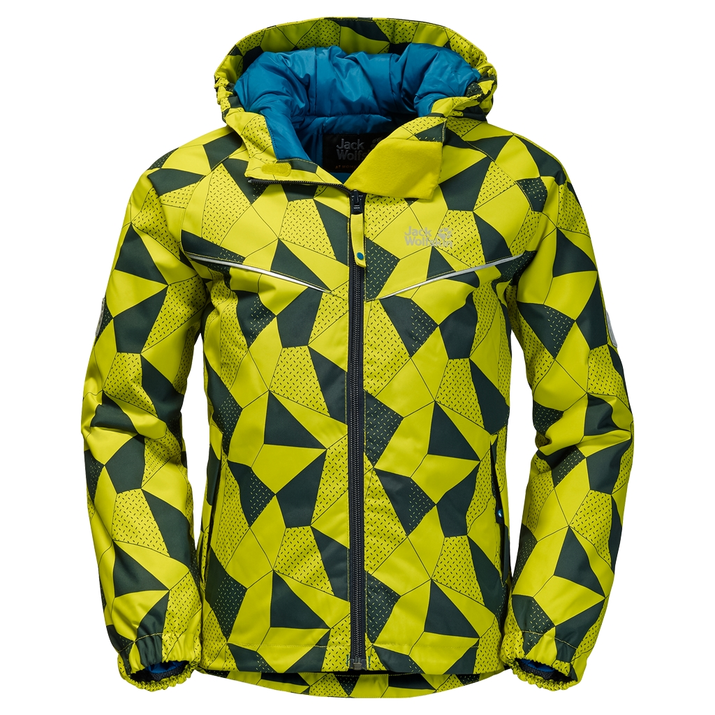 Jack Wolfskin Floating Ice Jacket Kids wild lime-30