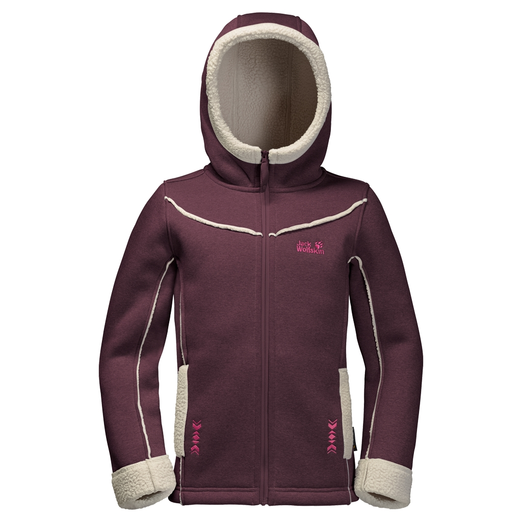 Jack Wolfskin Terra Nova Girls dark berry-30