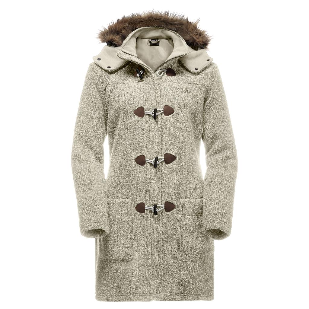 Jack Wolfskin Milton Coat Women white sand-30