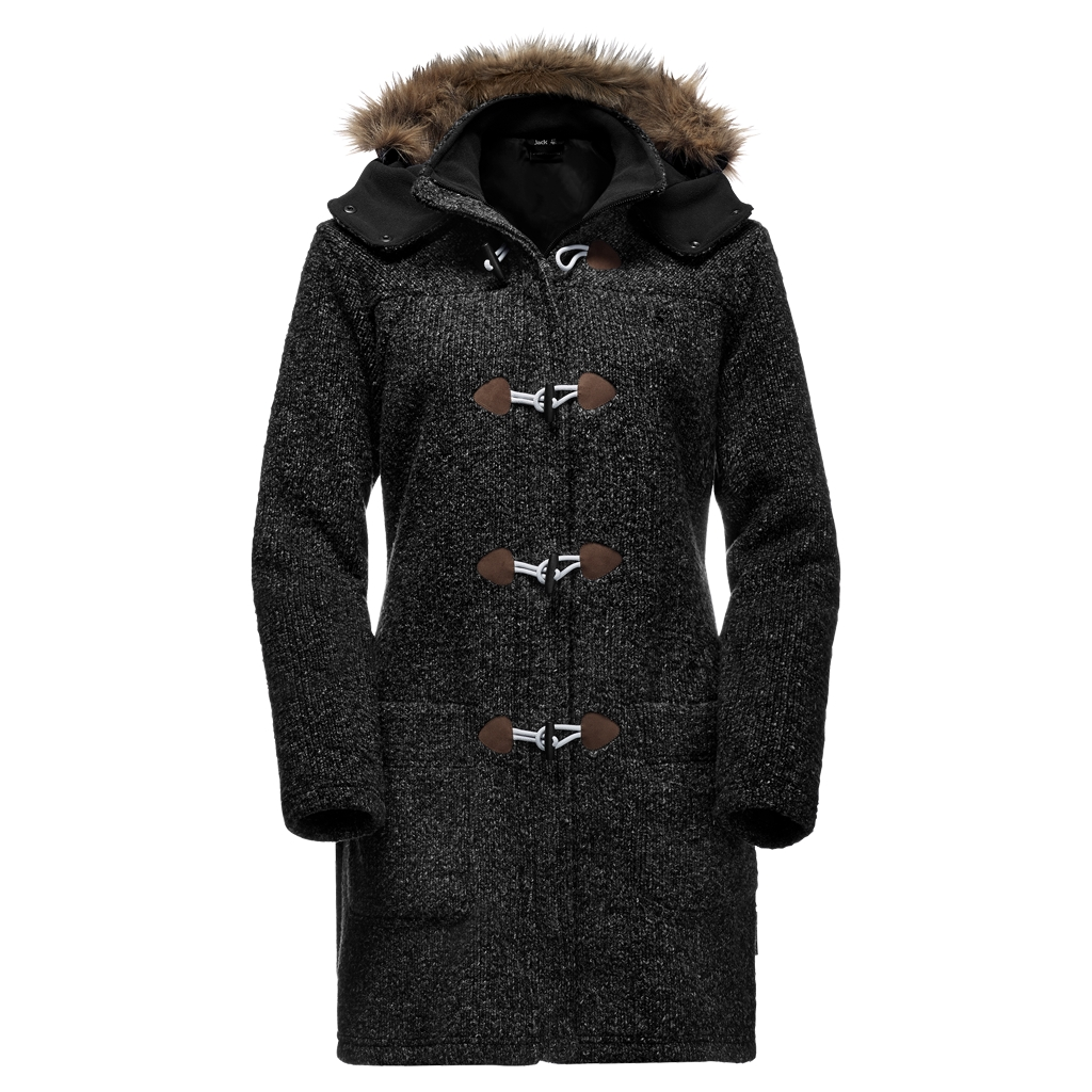 Jack Wolfskin Milton Coat Women black-30