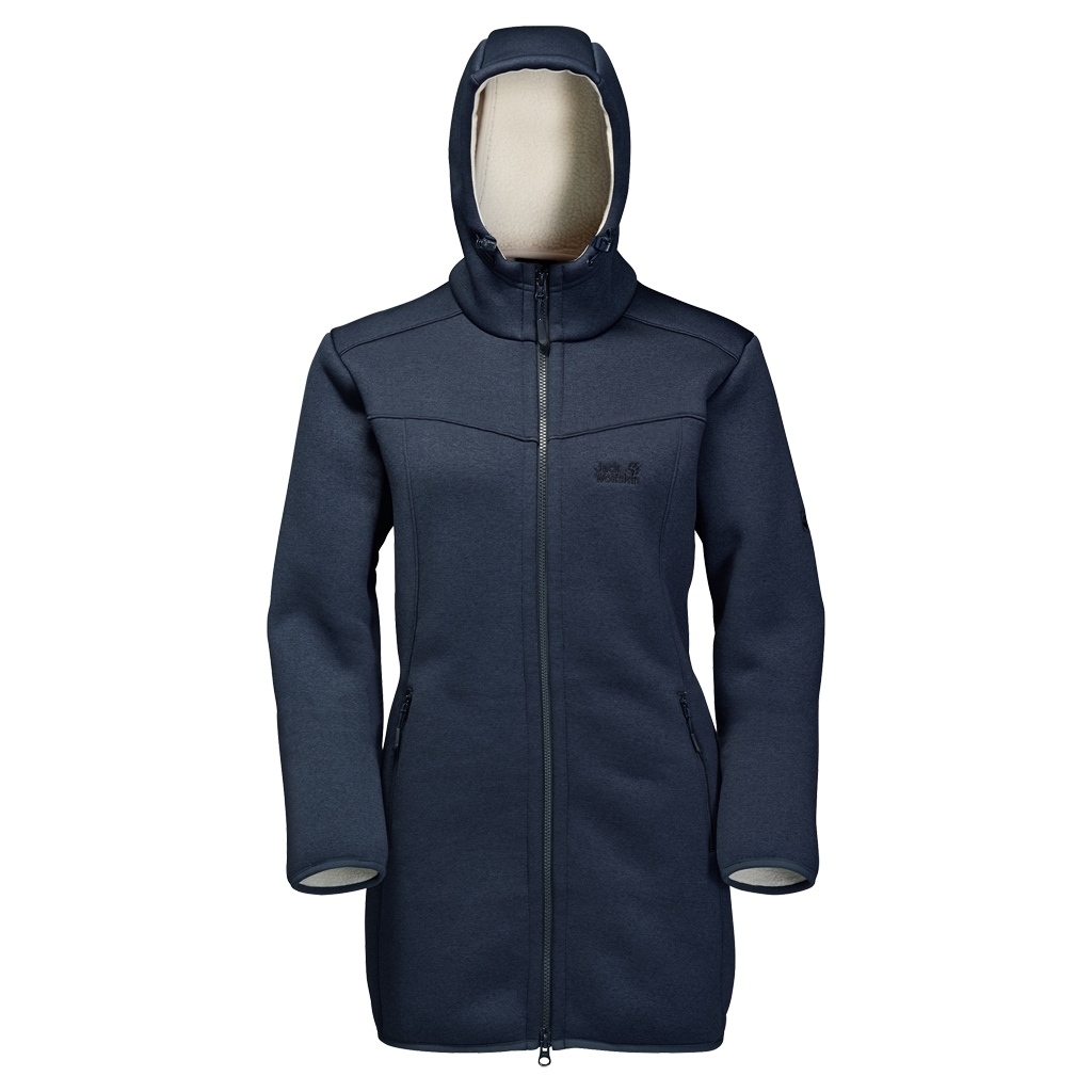 Jack Wolfskin Terra Nova Coat Women night blue-30