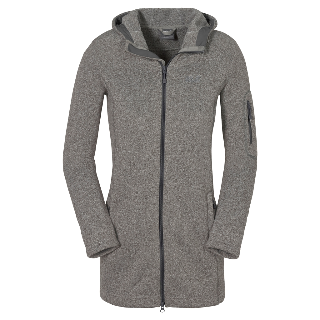 Jack Wolfskin Caribou Parka Women light grey-30