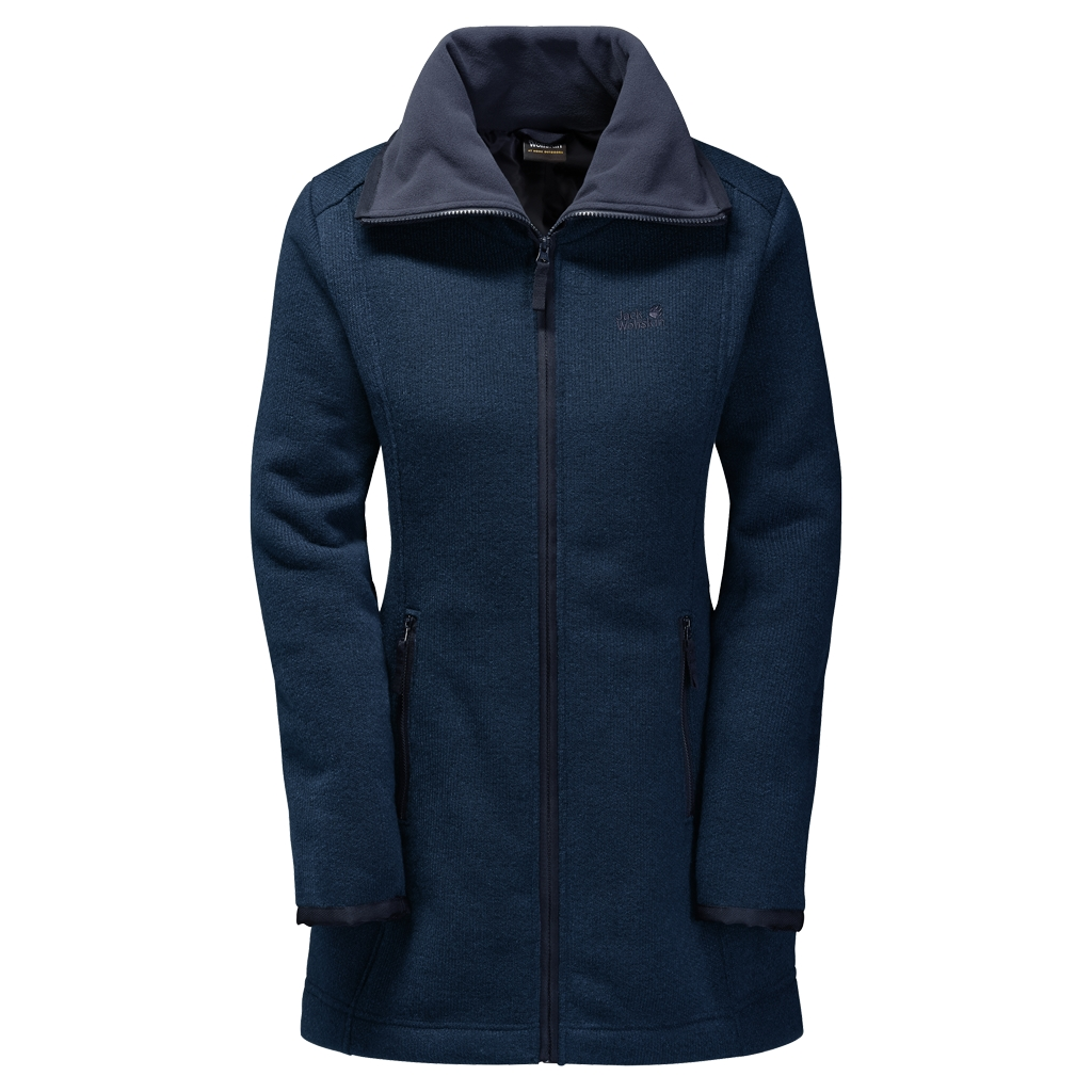Jack Wolfskin Solitary Morning Coat night blue-30