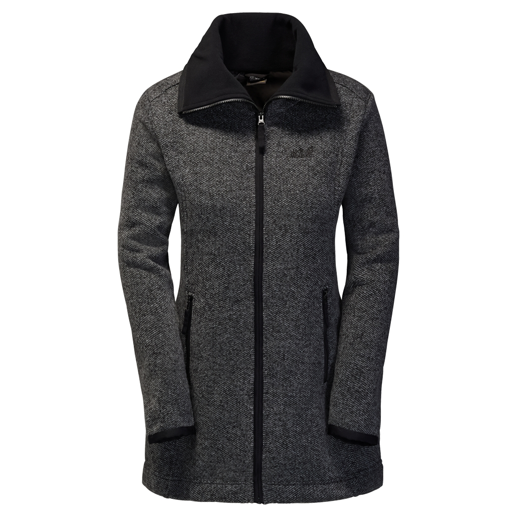 Jack Wolfskin Solitary Morning Coat black-30