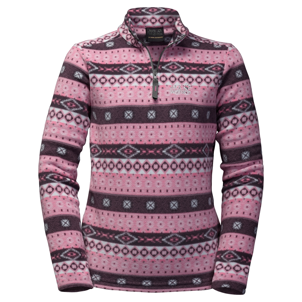 Jack Wolfskin Ice Crystal Pullover Women rosebud all over-30