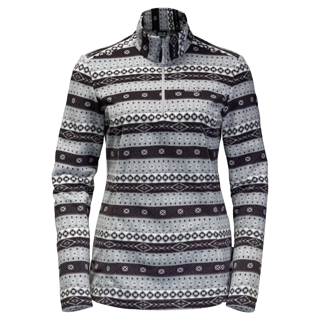 Jack Wolfskin Ice Crystal Pullover Women alloy allover-30