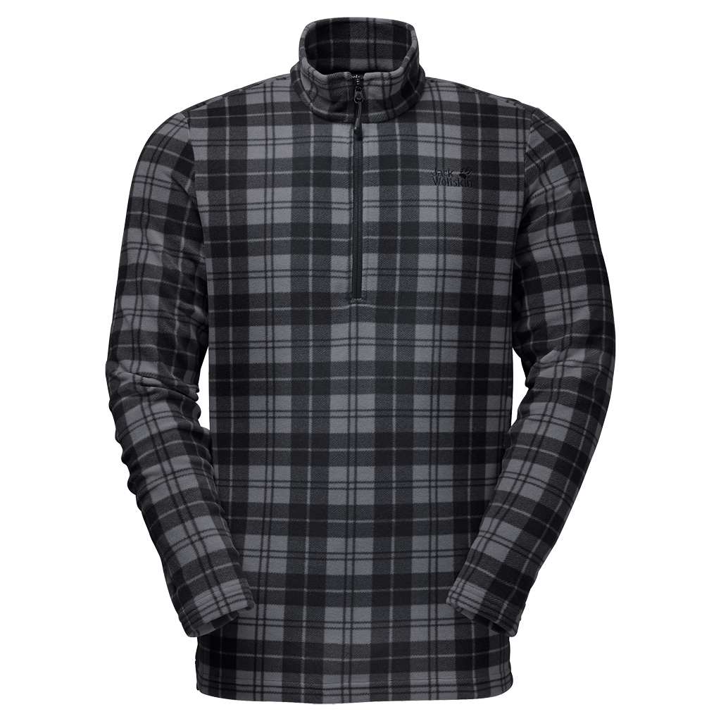 Jack Wolfskin Greenland Check black all over-30