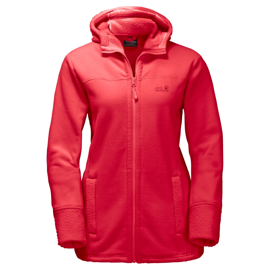 Jack Wolfskin Frozen Morning Women hibiscus red-30