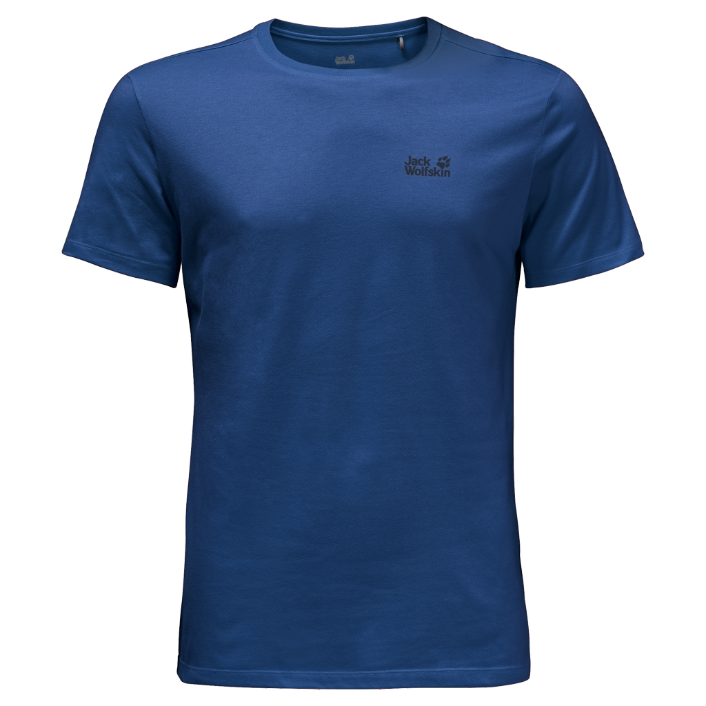 Jack Wolfskin Essential T-Shirt Men deep sea blue-30
