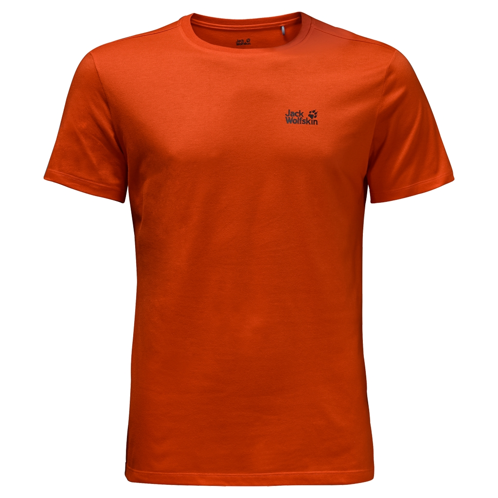 Jack Wolfskin Essential T-Shirt Men dark satsuma-30
