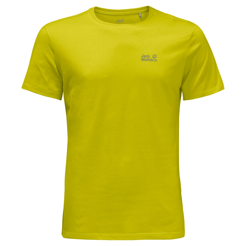 Jack Wolfskin Essential T-Shirt Men wild lime-30