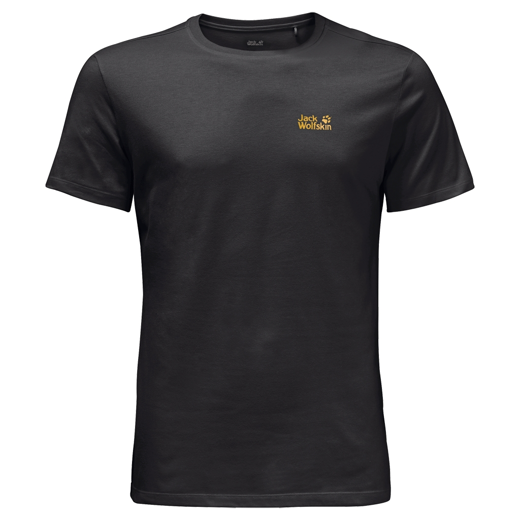 Jack Wolfskin Essential T-Shirt Men black-30