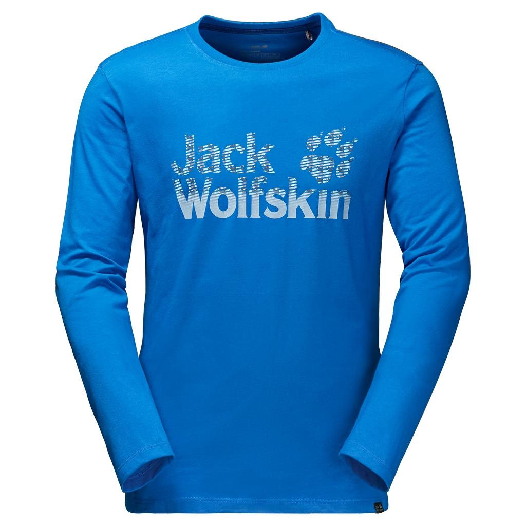 Jack Wolfskin Arctic Logo Longsleeve azure blue-30