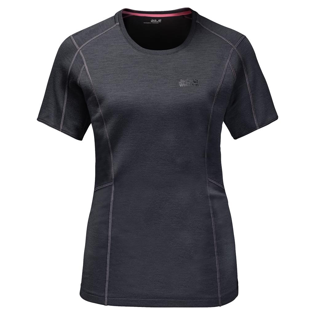 Jack Wolfskin Arctic T-Shirt Women ebony-30