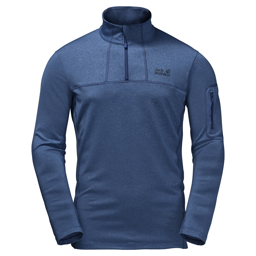 Jack Wolfskin Silver Sky Half Zip Men deep sea blue-30