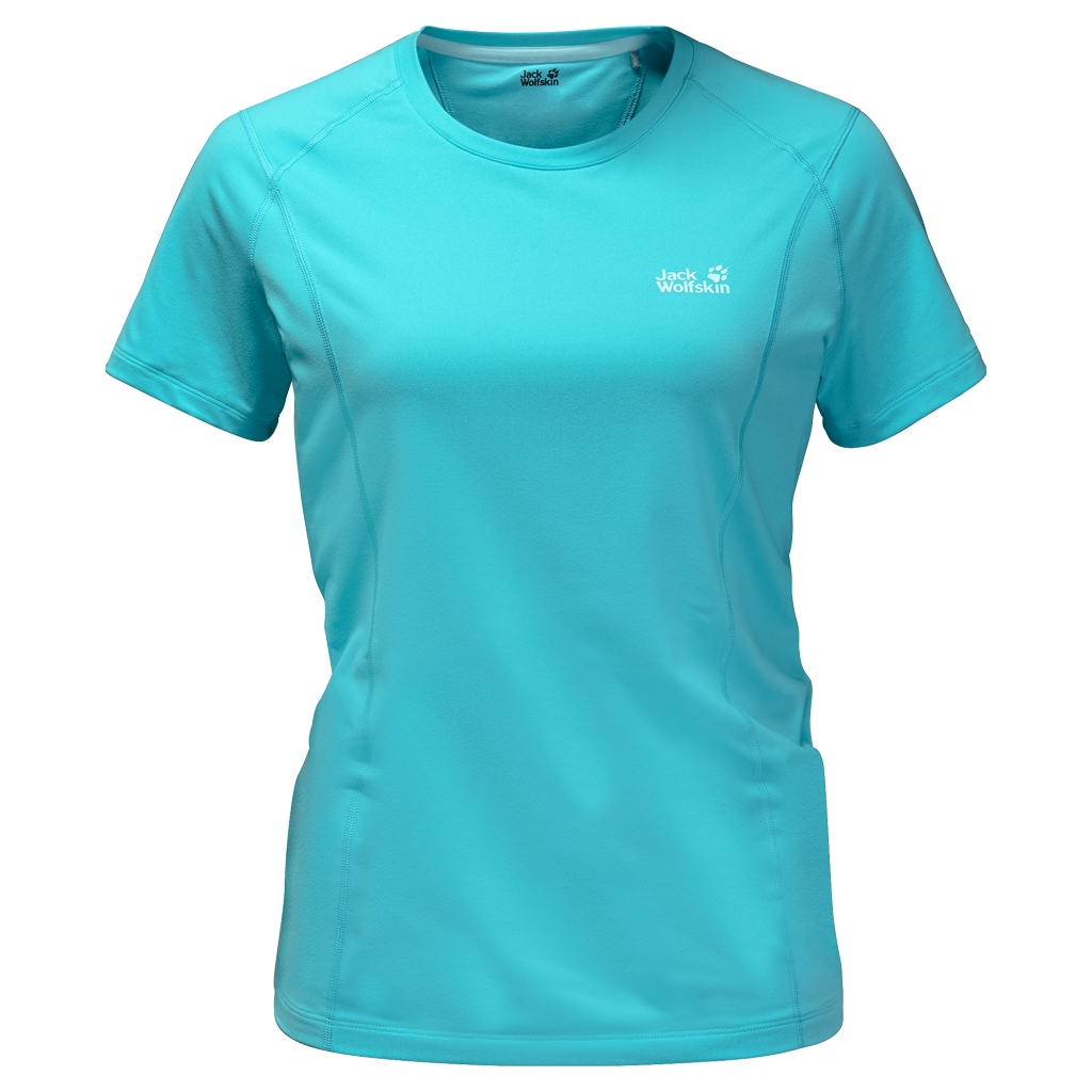 Jack Wolfskin Hollow Range T-Shirt Women icy water-30