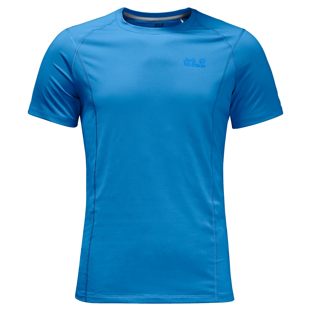 Jack Wolfskin Hollow Range T-Shirt Men brilliant blue-30