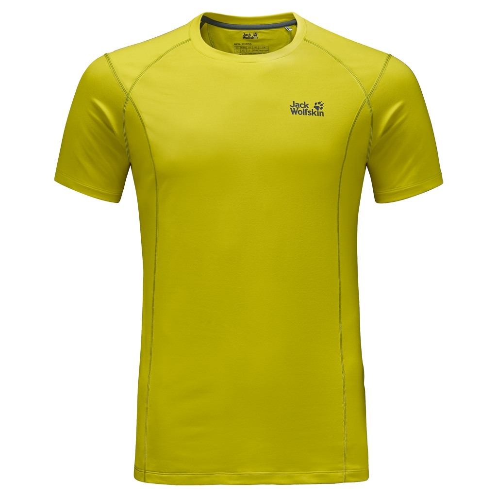 Jack Wolfskin Hollow Range T-Shirt Men wild lime-30
