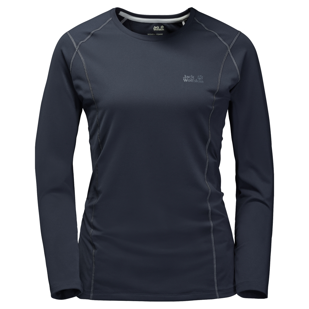 Jack Wolfskin Hollow Range Longsleeve Women night blue-30