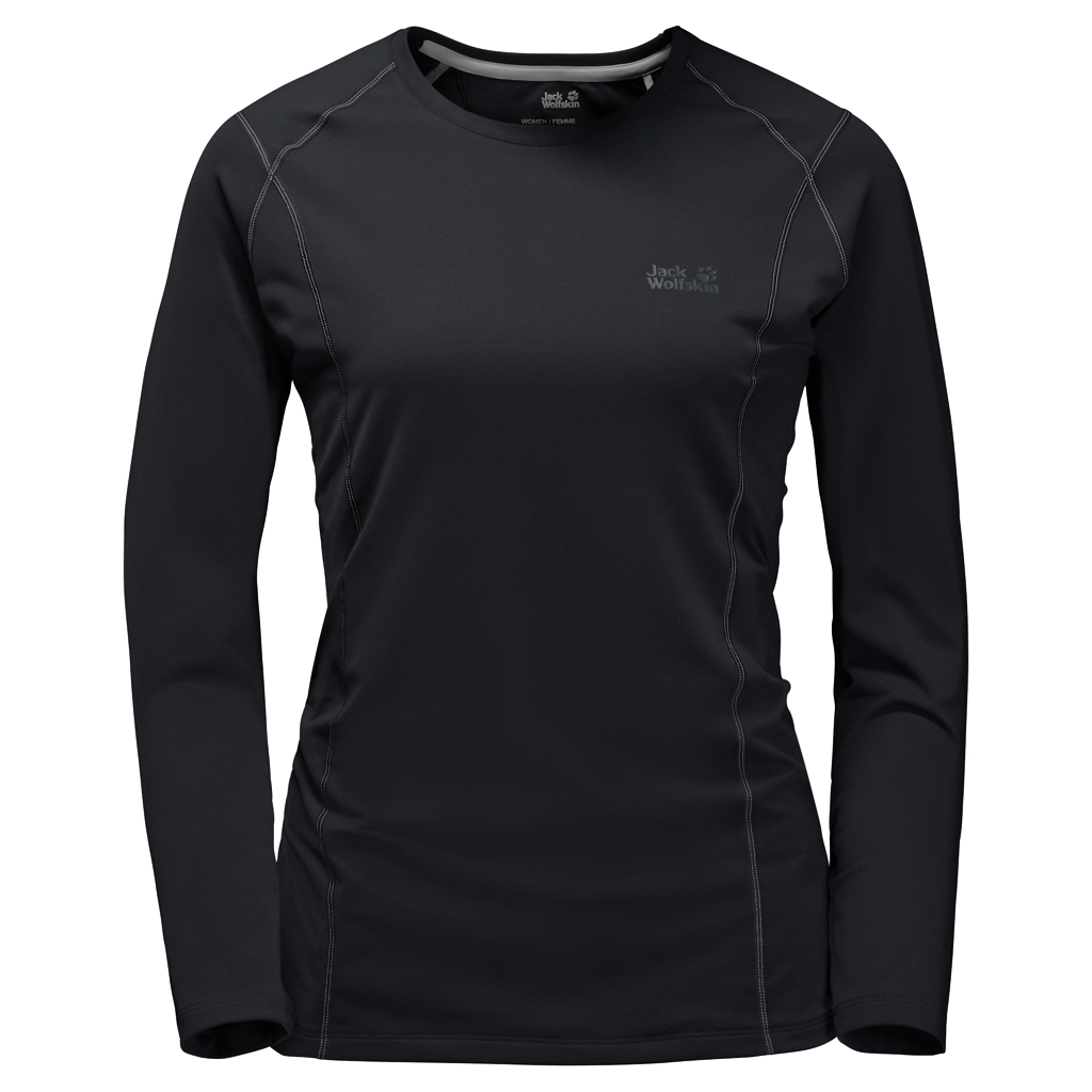 Jack Wolfskin Hollow Range Longsleeve Women black-30