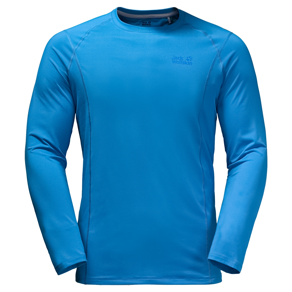 Jack Wolfskin Hollow Range Longsleeve Men brilliant blue-30