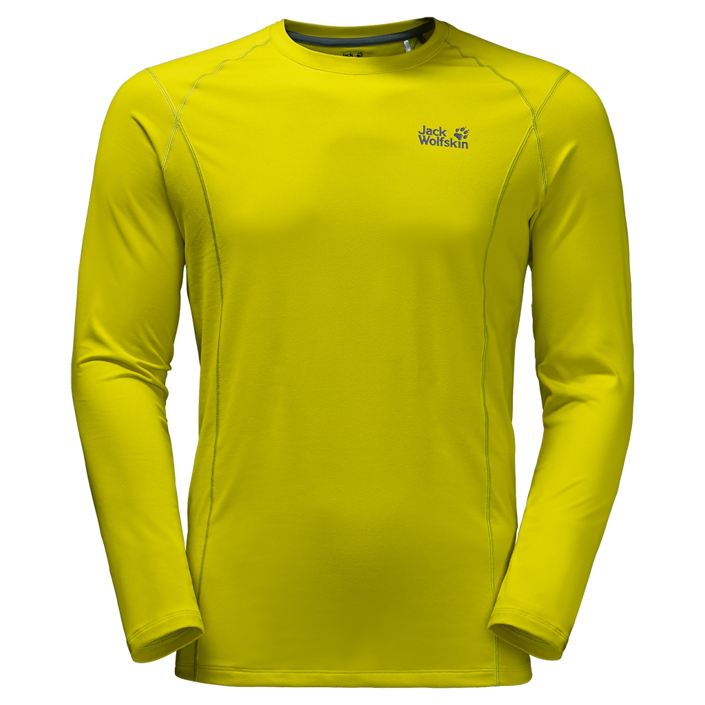 Jack Wolfskin Hollow Range Longsleeve Men wild lime-30