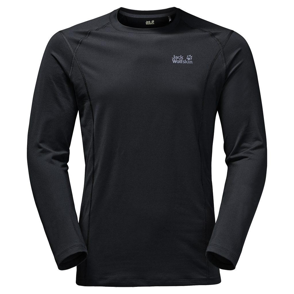Jack Wolfskin Hollow Range Longsleeve Men black-30