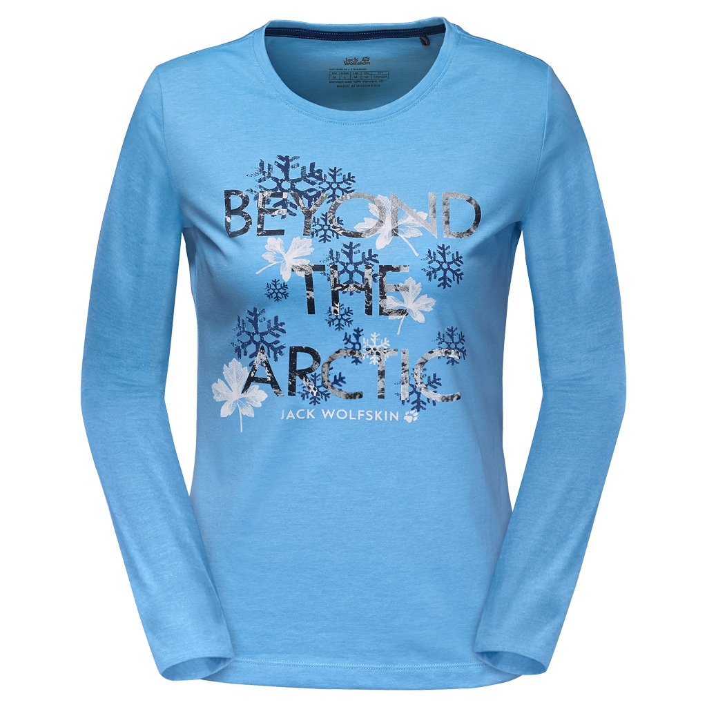 Jack Wolfskin Ice Crystal Longsleeve light sky-30
