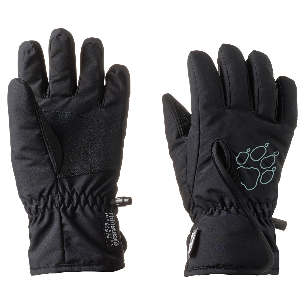 Jack Wolfskin Easy Entry Glove Kids black-30