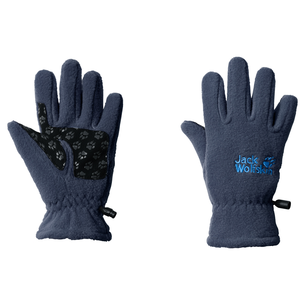 Jack Wolfskin Fleece Glove Kids dark sky-30