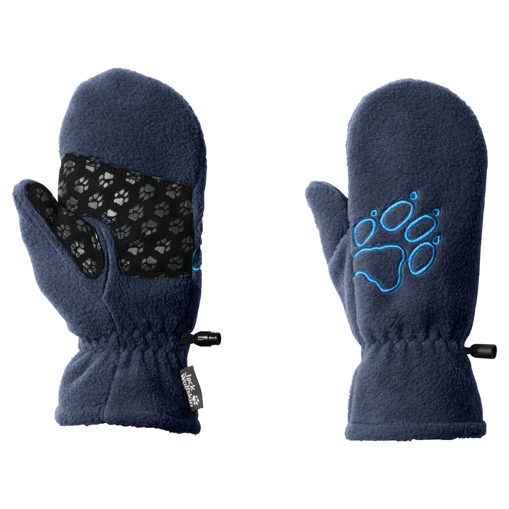 Jack Wolfskin Fleece Mitten Kids dark sky-30