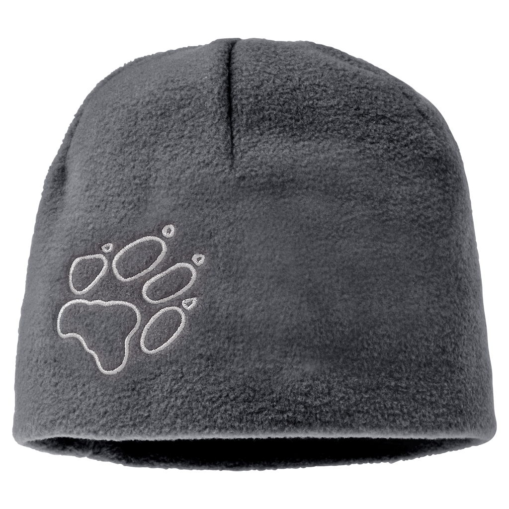 Jack Wolfskin Fleece Cap Kids grey heather-30