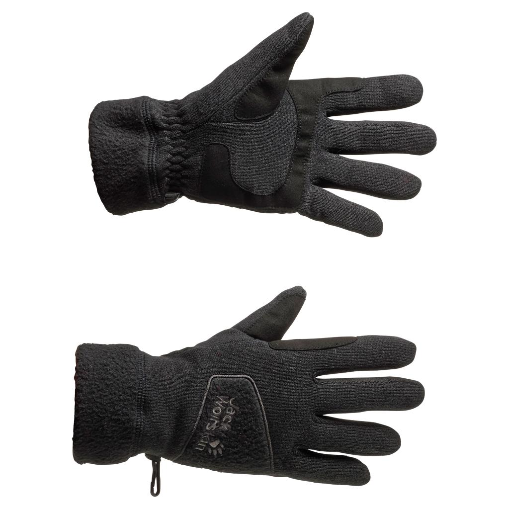 Jack Wolfskin Caribou Glove black-30