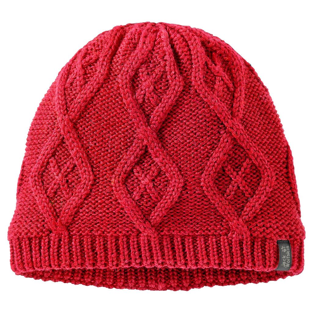 Jack Wolfskin Plait Cap Women red fire-30