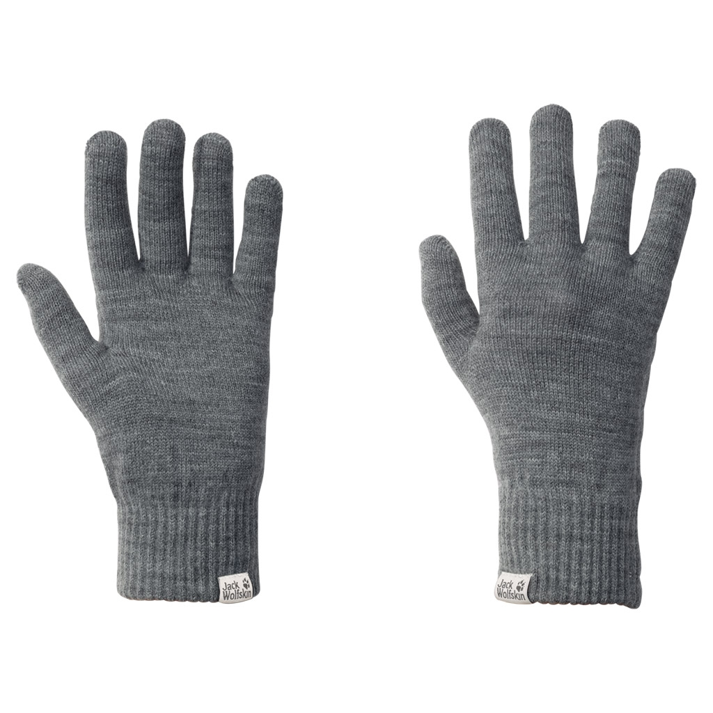 Jack Wolfskin Rib Glove Women grey heather-30