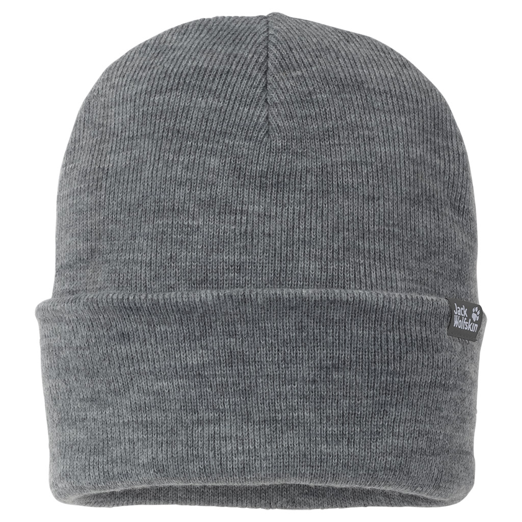 Jack Wolfskin Rib Hat grey heather-30