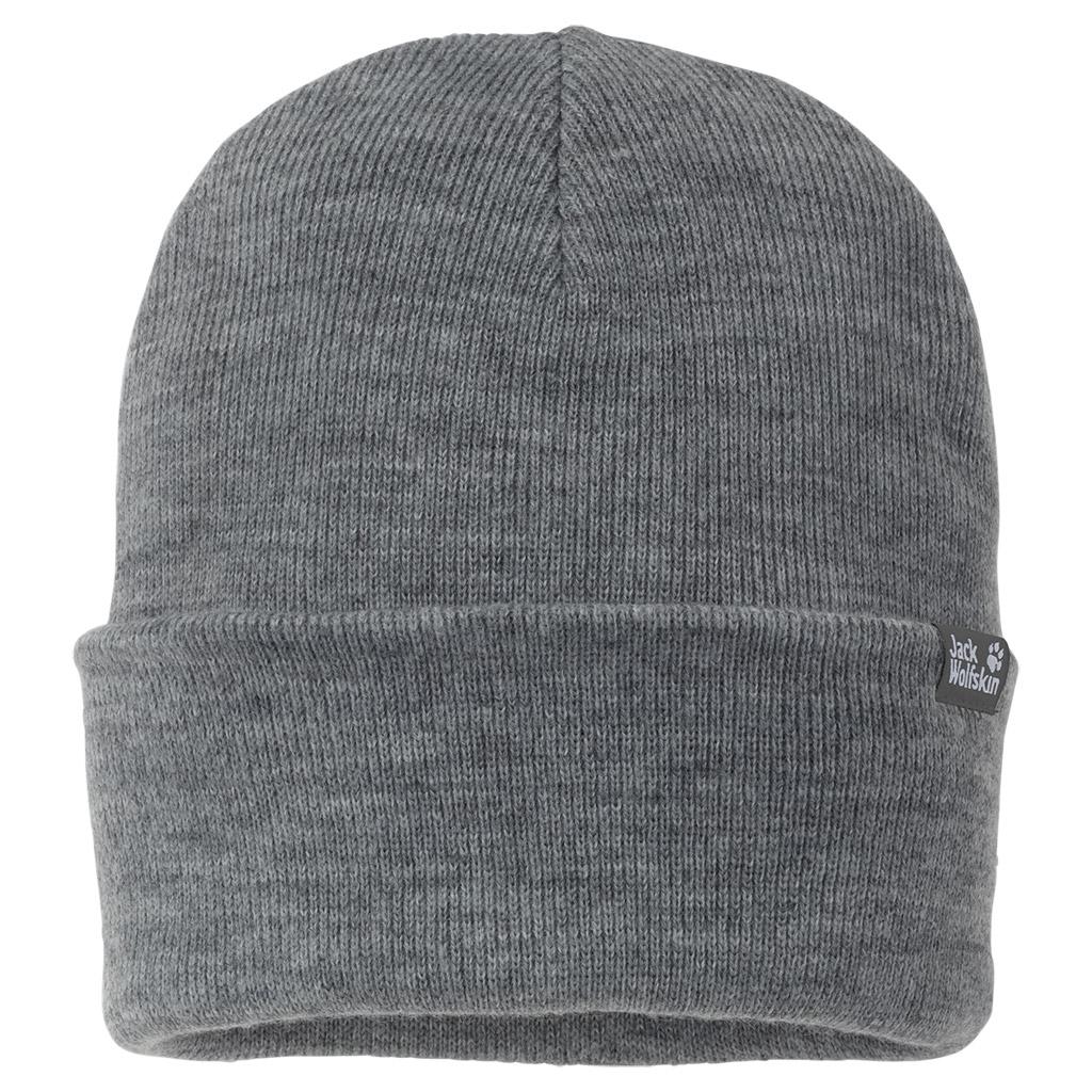 Jack Wolfskin Rib Hat grey heather-30