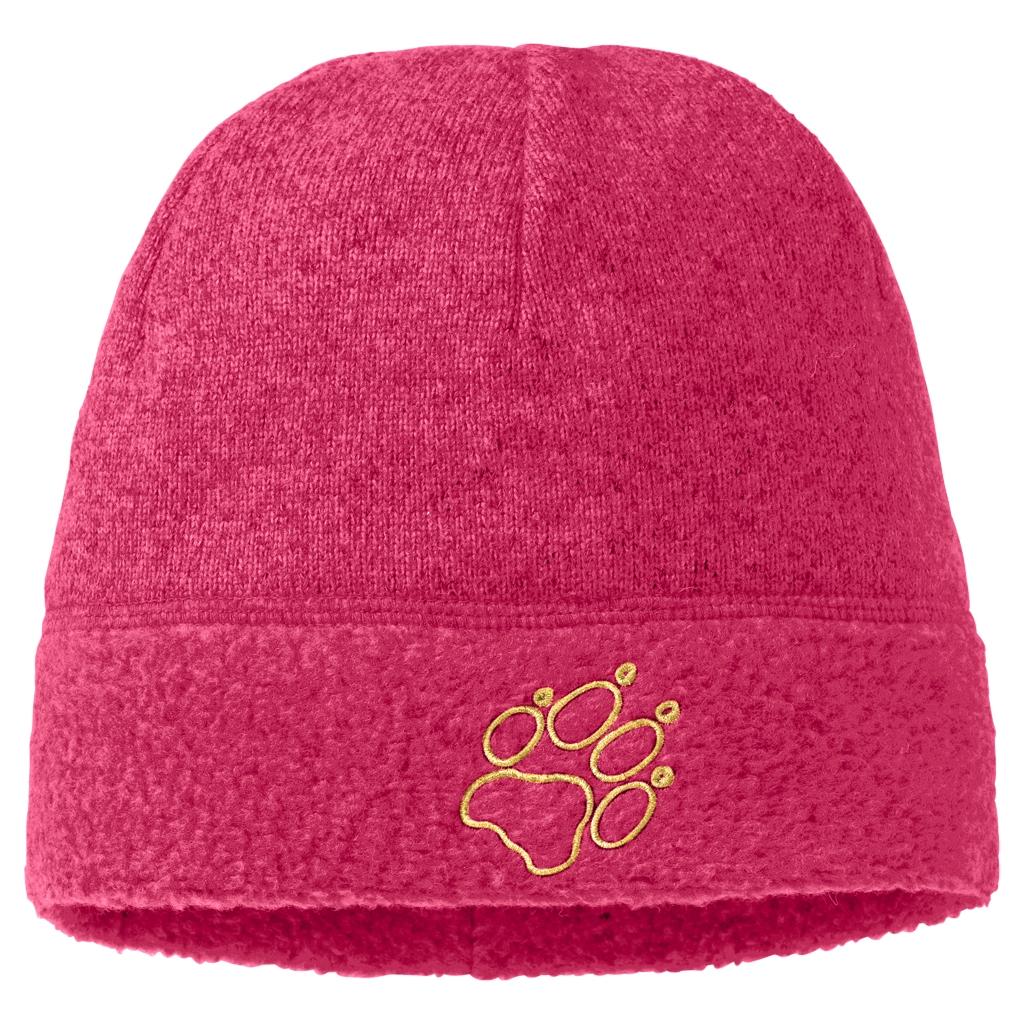 Jack Wolfskin Caribou Cap Kids pink raspberry-30