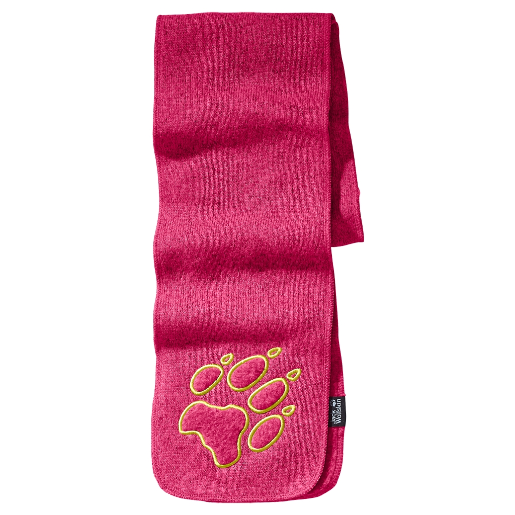 Jack Wolfskin Caribou Scarf Kids pink raspberry-30