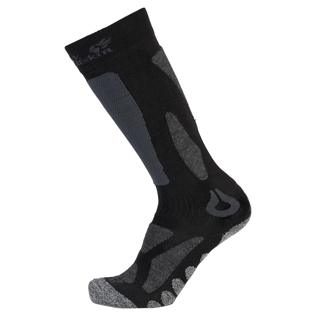 Jack Wolfskin Ski Merino Sock High Cut black-30