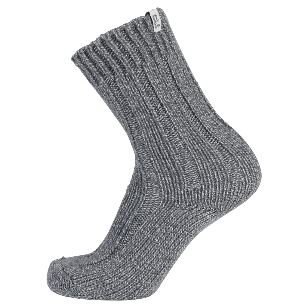 Jack Wolfskin Recovery Wool Sock Classic Cut light grey-30