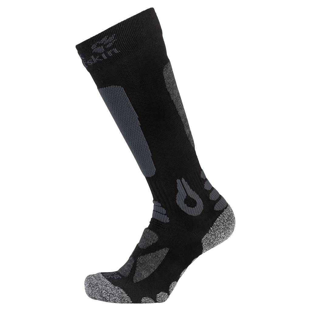 Jack Wolfskin Ski Merino Sock High Cut Kids black-30