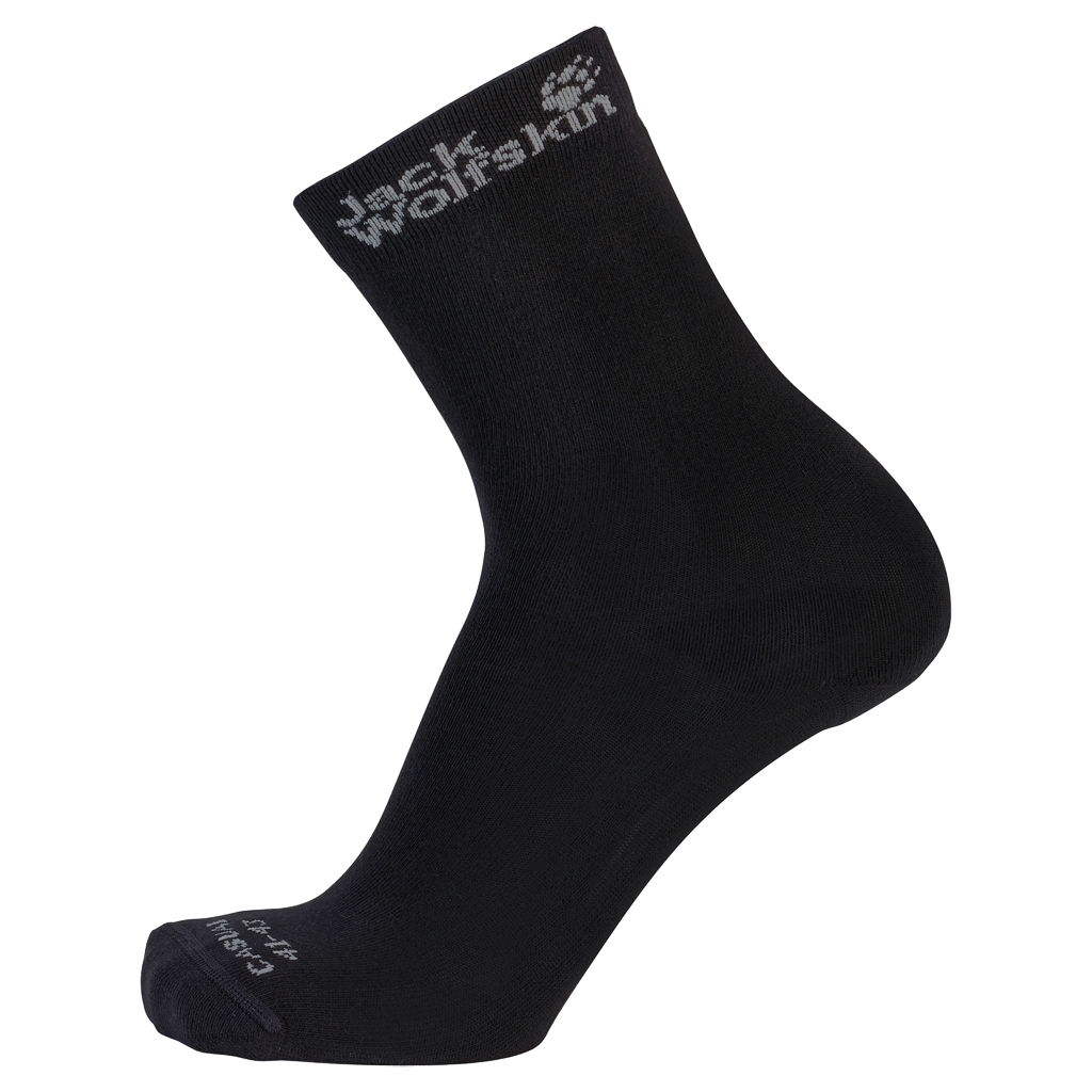 Jack Wolfskin Casual Sock Classic Cut (2X) black-30