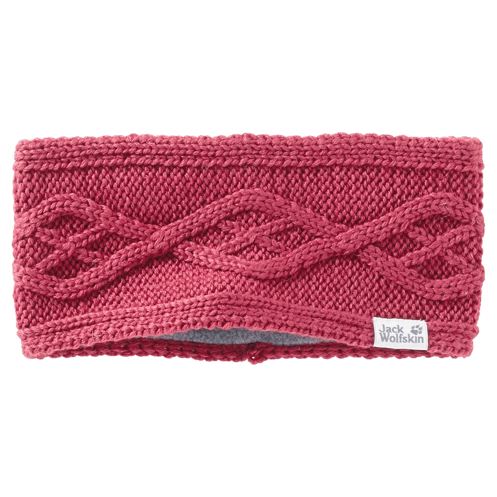 Jack Wolfskin Plait Headband Women rosebud-30