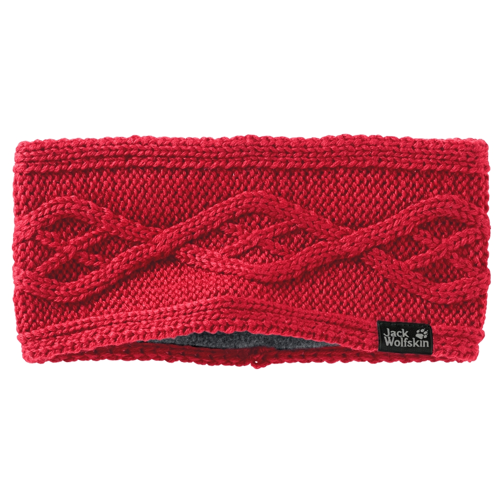 Jack Wolfskin Plait Headband Women red fire-30