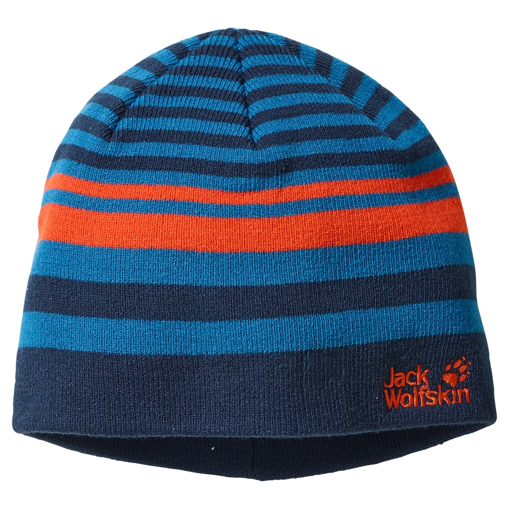 Jack Wolfskin Cross Knit Cap Kids glacier blue-30
