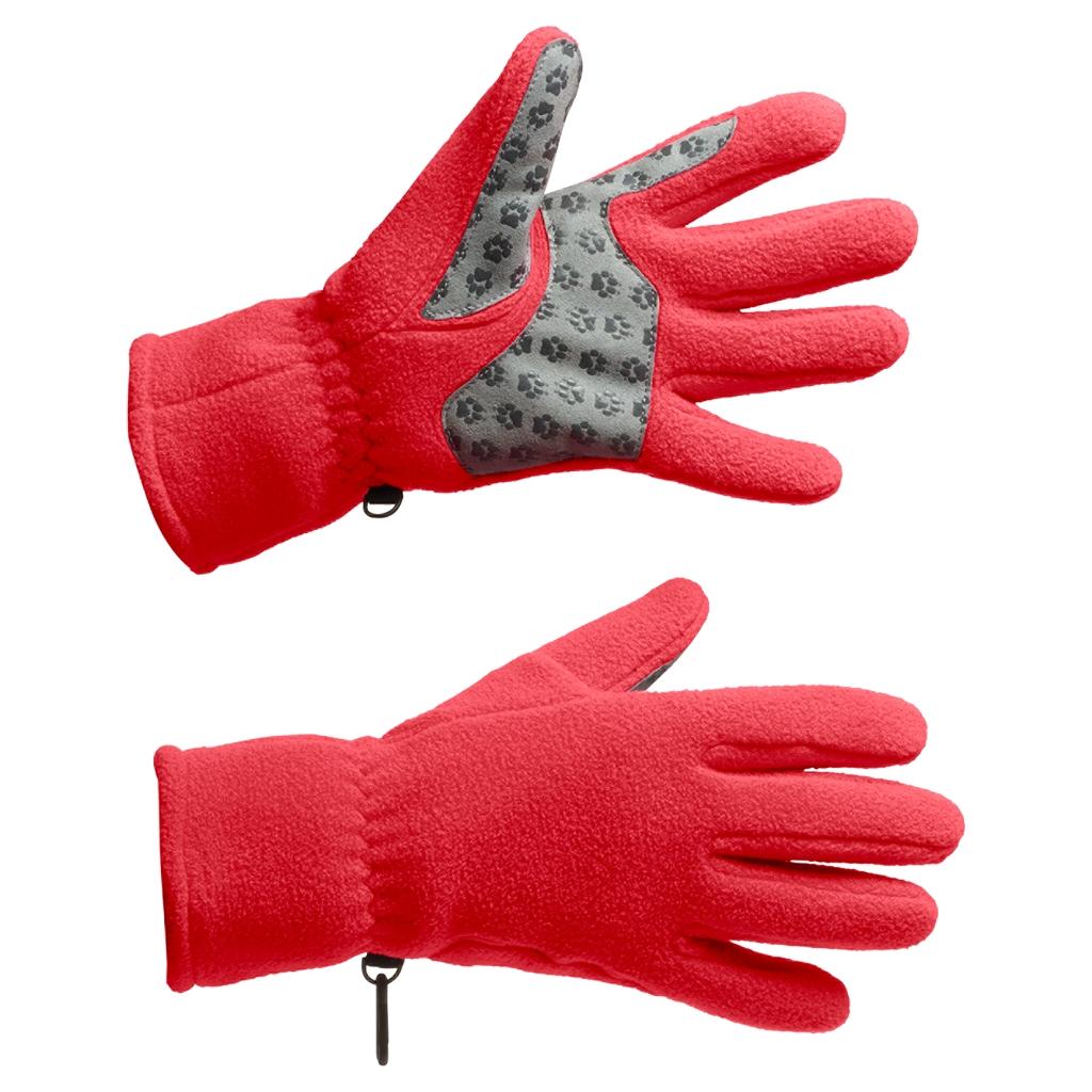Jack Wolfskin Nanuk Paw Glove Women hibiscus red-30