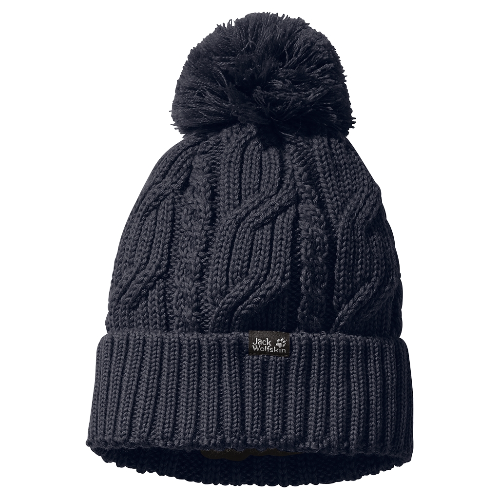 Jack Wolfskin Stormlock Pompom Beanie night blue-30