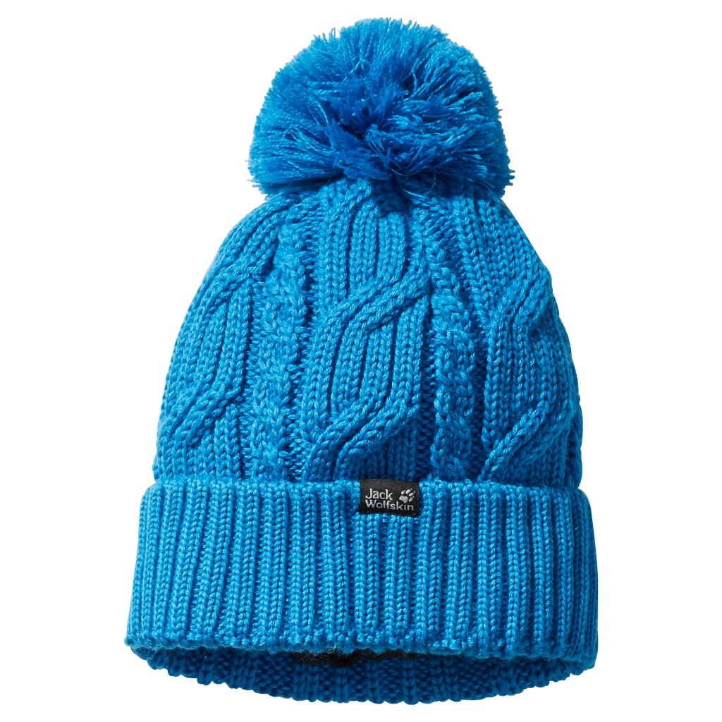 Jack Wolfskin Stormlock Pompom Beanie brilliant blue-30