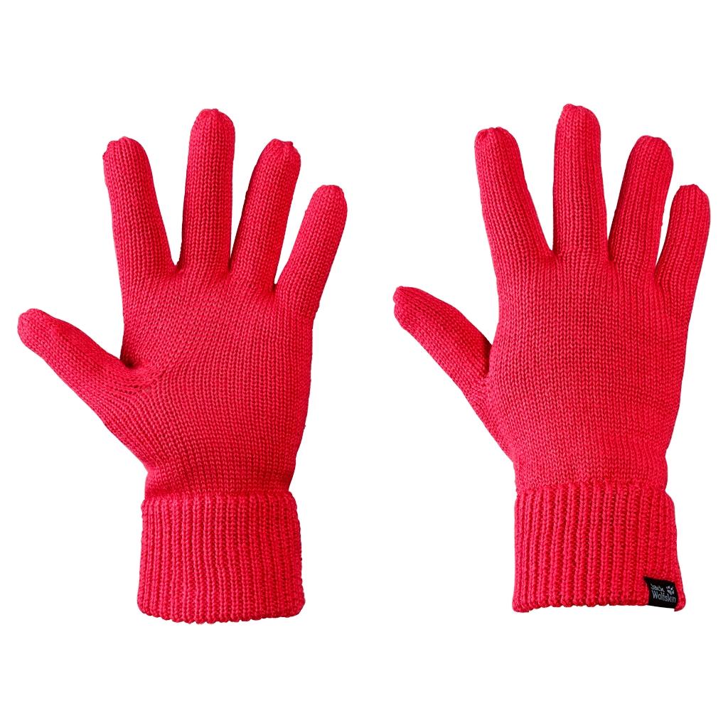 Jack Wolfskin Milton Glove hibiscus red-30